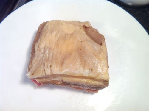Heston Blumenthals Braised Pork Belly with Crackling, Lay The Table
