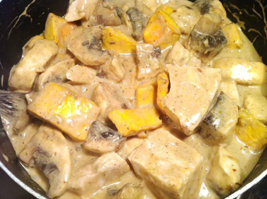 Thai Massaman Curry Chicken and Squash Pie, Lay The Table