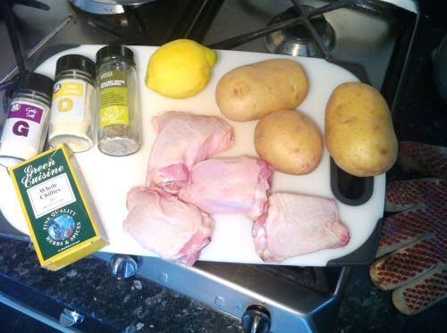 Italian Chicken Traybake, Lay The Table