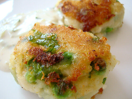 How To Make Indian Cumin And Coriander Potato Cakes, Lay The Table