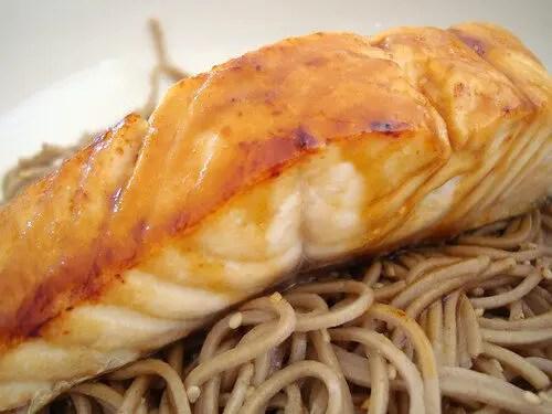 How To Make Salmon Teriyaki, Lay The Table