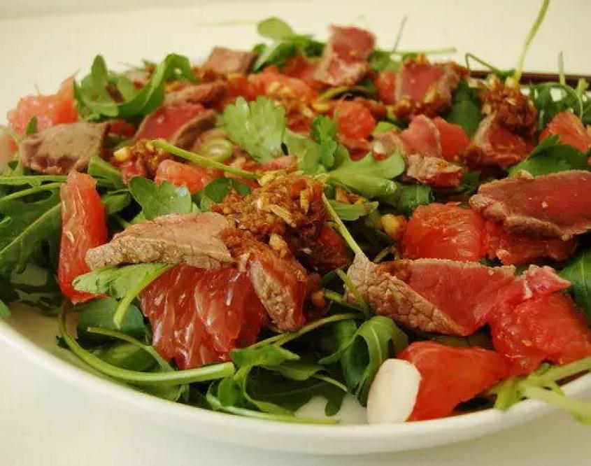 How To Make Japanese Beef Tataki Salad, Lay The Table