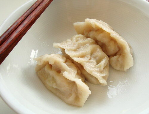 How To Make Chinese Dumplings or Jiaozi, Lay The Table