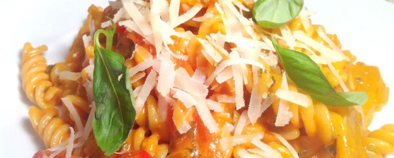 Veggie Pepper Pasta with Philadelphia Cream Cheese, Lay The Table