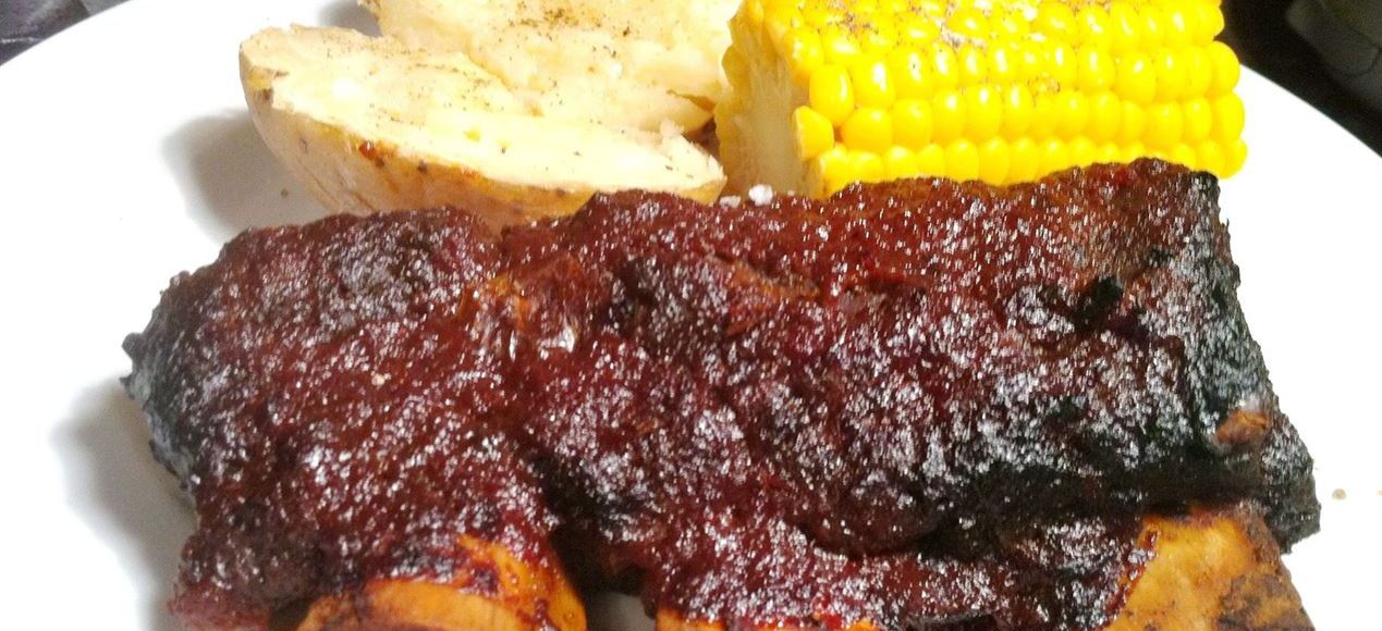 Mark Hixs Beef Ribs in Barbecue Sauce, Lay The Table