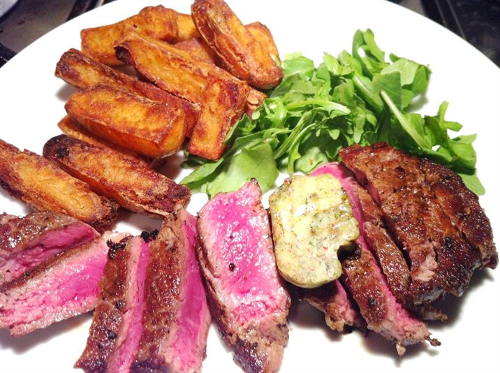 Lurpak Food Adventures: T-Bone Steak with Tarragon, Lemon and Pink Peppercorn Butter, Lay The Table