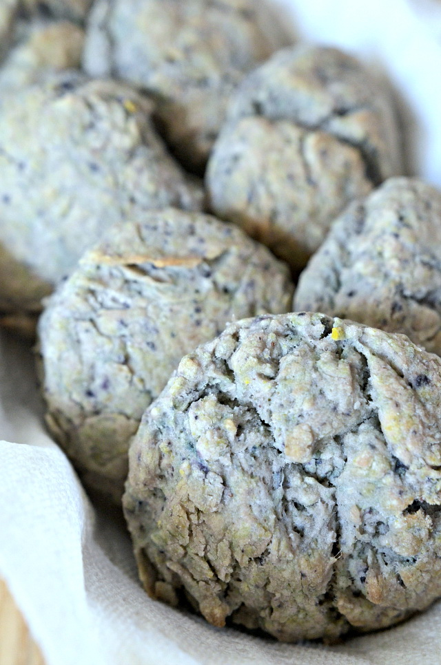 Blueberry Sage Biscuits, Lay The Table