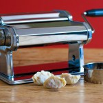 Making Dumpling Wrappers Using A Pasta Machine, Lay The Table
