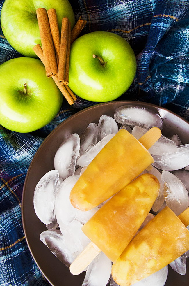 Vegan Apple Cider Popsicles, Lay The Table