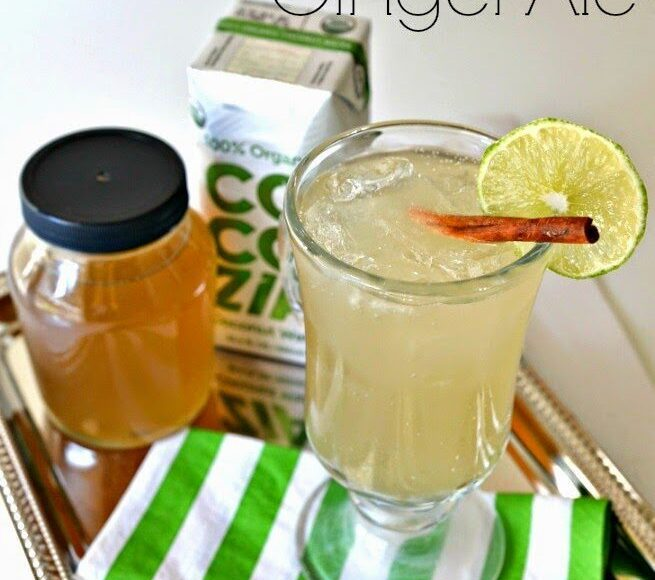 Coconut Lime Ginger Ale, Lay The Table