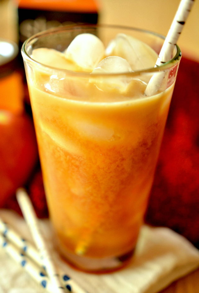 Iced Apple Chai Latte, Lay The Table