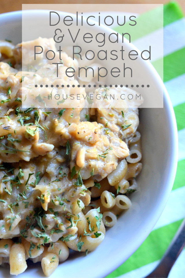 Delicious and Vegan Pot Roasted Tempeh, Lay The Table