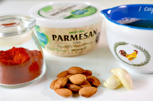 Delicious Smokey Almond and Parsley Pesto w/ Aquafaba, Lay The Table