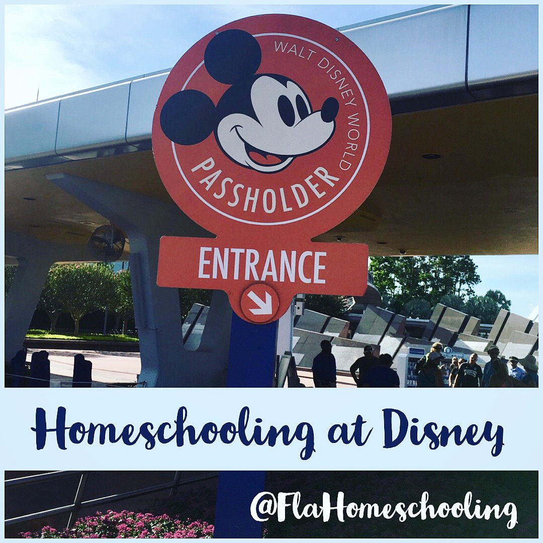 Homeschooling At Disney