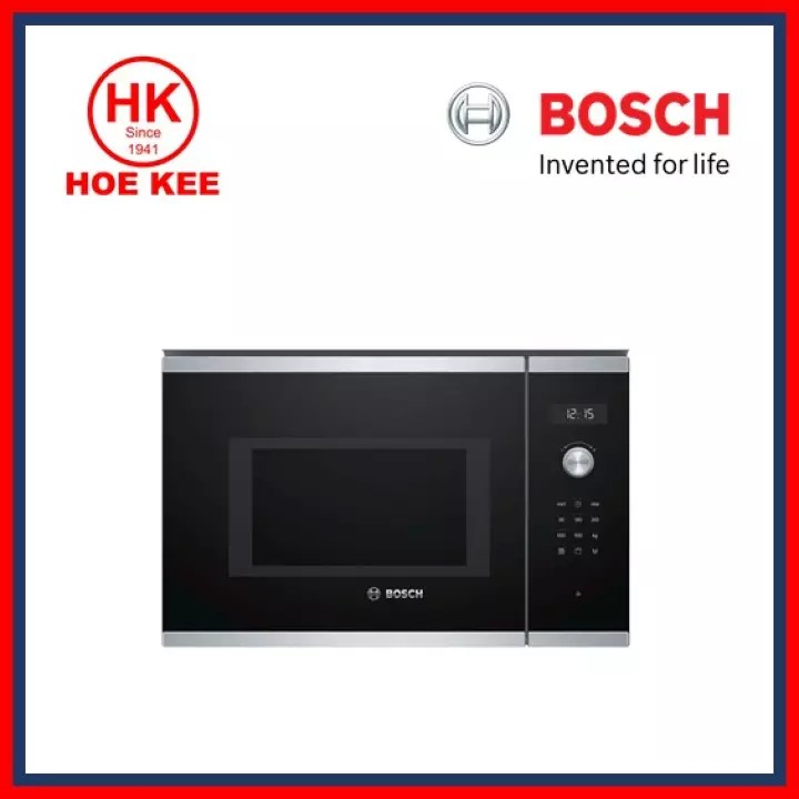 bulky bosch built in microwave oven bel554ms0k