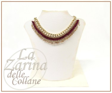 Collana Statement Gold