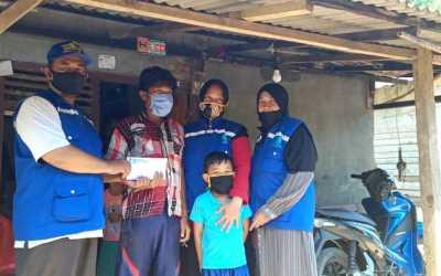 LAZDAI Salurkan Bantuan untuk Korban Banjir Tanggamus