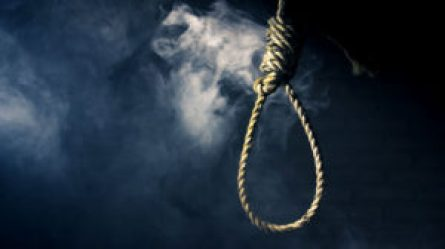 hangman's noose displayed in the workplace; a hate crime.