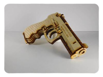 Wood Model 9MM Kit By-LazerModels 1