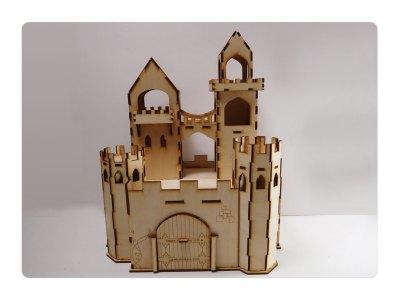 Lazermodels Castle-Front