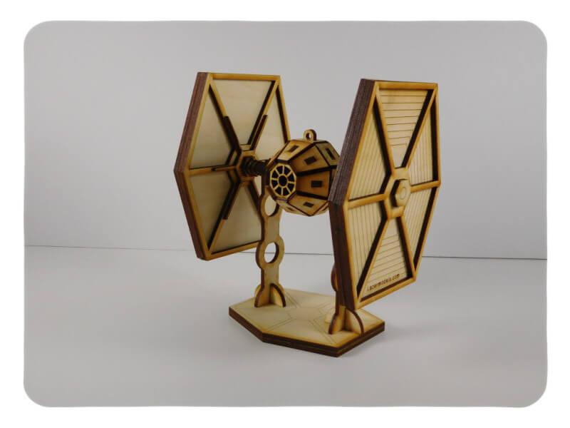 Wood Model Sci Fi Package Deal Kit By-LazerModels