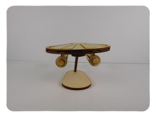 Wood Model SpaceShip Kit By-LazerModels