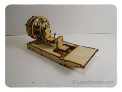 Wood Model AirBoat Kit By-LazerModels