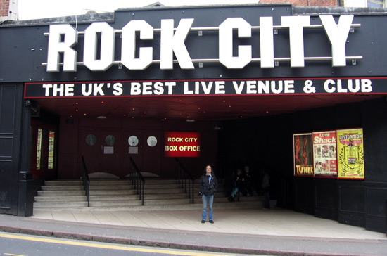Nottingham's Rock City - A place where I looked for teenage kicks in the 90s...