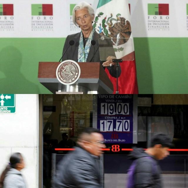 México, el país al que el FMI mejora más su previsión de crecimiento para 2019.