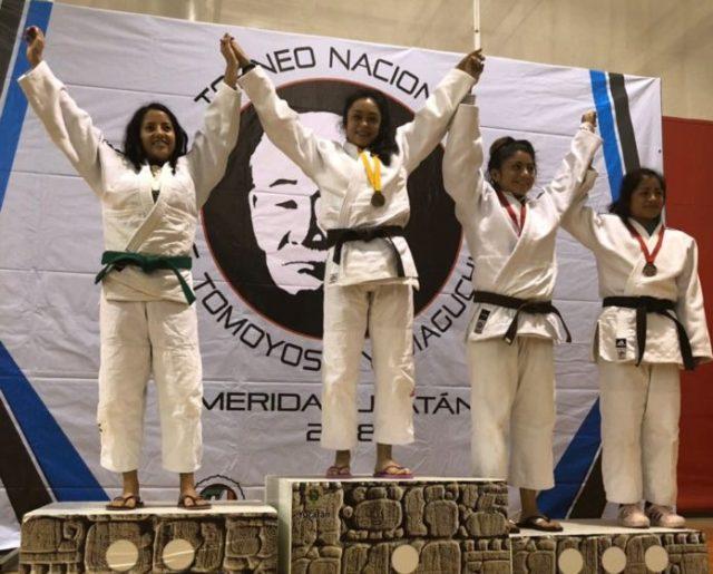 Michoacán obtiene 9 medallas de oro en Nacional de Judo.