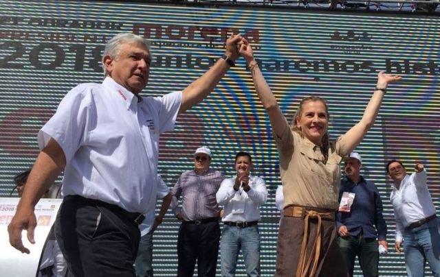 AMLO, con cálido inicio de campaña en Juárez