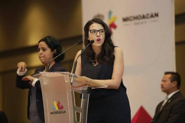 Michoacán, entre los 15 estados con más embarazos entre adolescentes: Giulianna Bugarini .