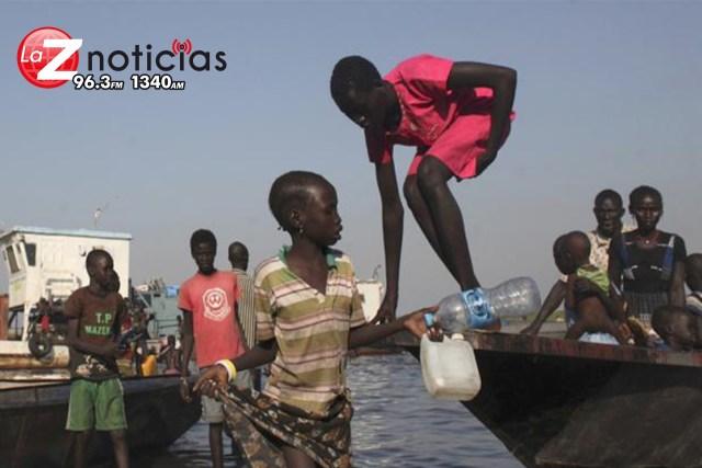 Mueren 23 niños en naufragio en Sudán; se dirigían a la escuela