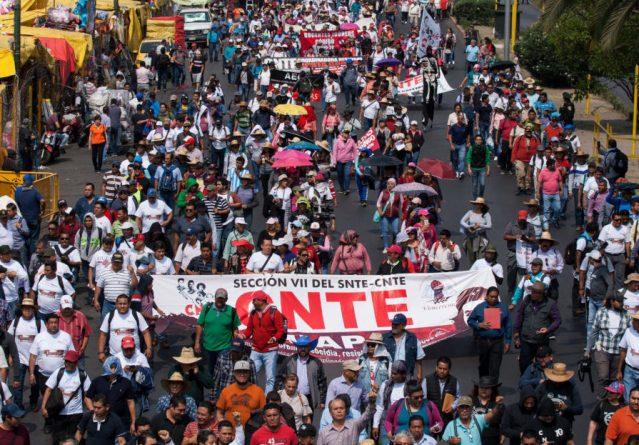 La CNTE «Poder de Base» sí desfilará este 16 de septiembre en el marco de las Fiestas Patrias en Morelia