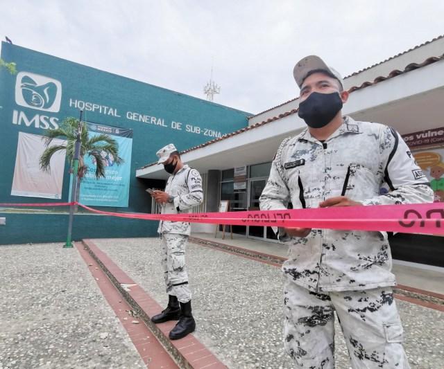 Sismo pega a hospitales en plena pandemia