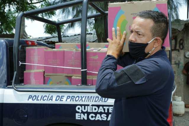 Apoyo alimentario llega a familias de músicos en municipios