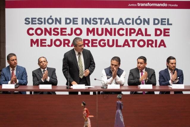 Gobierno de Morelia mejora en indicador del Observatorio Nacional de Mejora Regulatoria