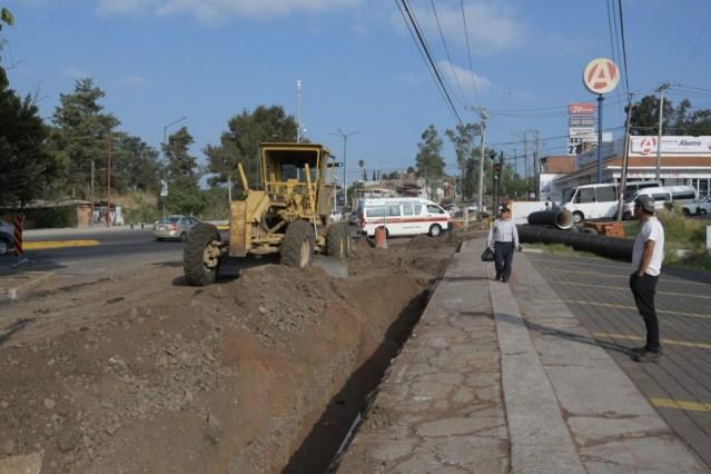 Gobierno de Morelia cierra circulación del cruce Av. Madero Poniente-Martires de la Plaza por obras