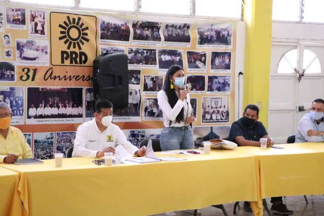 El PRD se fortalece rumbo al 2021: Araceli Saucedo Reyes
