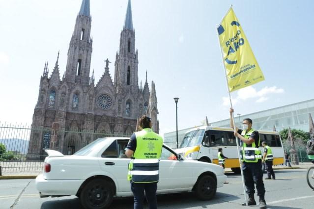 Ante Bandera Amarilla, refuerzan medidas hacia Nueva Convivencia en Zamora