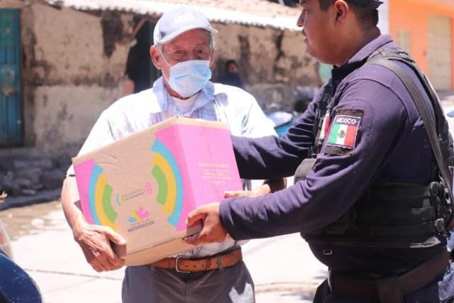 Casi 200 mil familias beneficiadas con Michoacán Alimenta