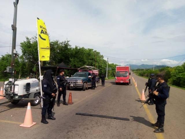 Con Bandera Amarilla refuerza SSP acciones para mitigar COVID-19 en Huetamo