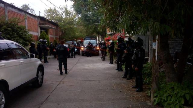 Desactiva la Secretaría de Seguridad Pública  fiesta que se desarrollaba en Morelia