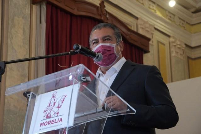 Respalda Raúl Morón política exterior de AMLO