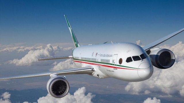 22 millones de pesos después regresa el avión presidencial