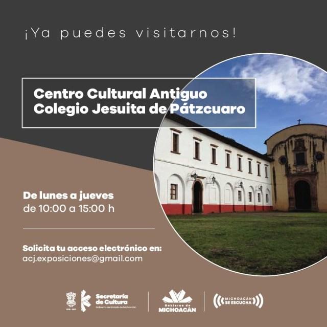 Centros culturales reabrirán puertas el 6 de julio