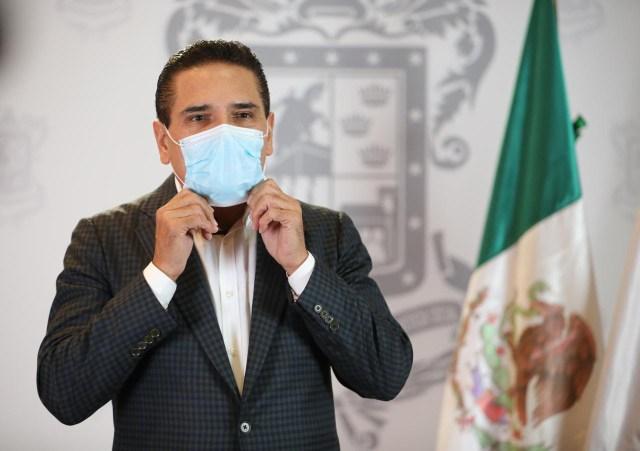 Uso de cubrebocas evita contagios y salva vidas: Silvano Aureoles