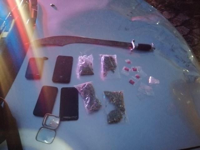 Detienen SSP  a uno en posesión de drogas en Morelia