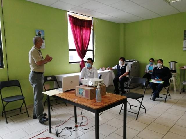 Cerca de 100 mil michoacanos han recibido capacitación sobre COVID-19
