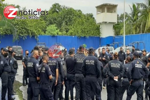 Con la consigna de «hoy por ellos, mañana por nosotros», policías estatales y municipales convocan a marcha en apoyo a municipales vinculados a proceso